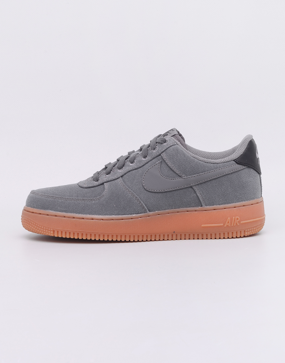 Nike Air Force 1 '07 LV8 Style Flat Pewter/ Flat Pewter - Gum Med Brown 41