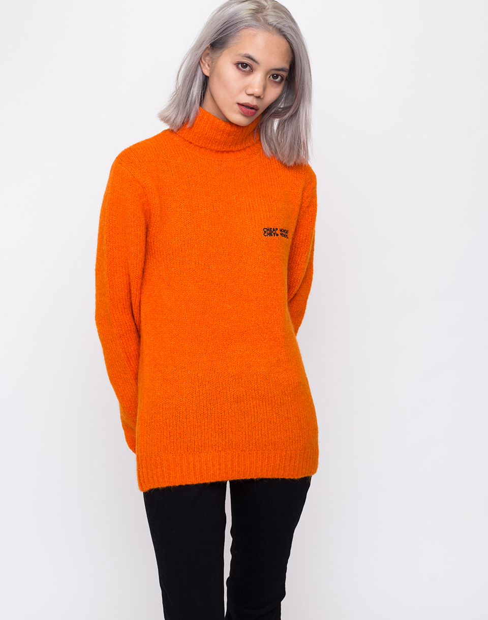 Cheap Monday Tap knit Echologo Signal Orange M