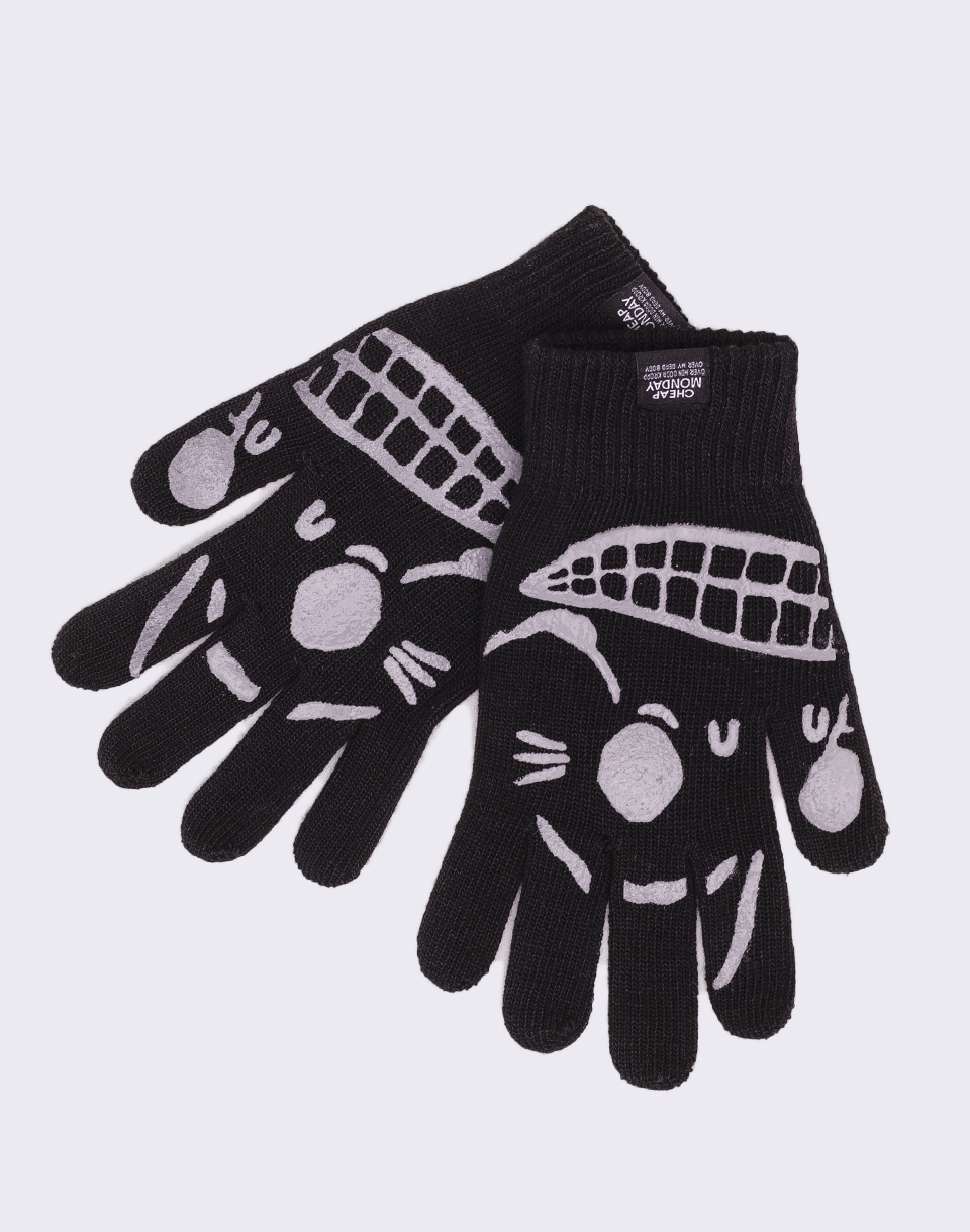 Cheap Monday Magic Gloves Black