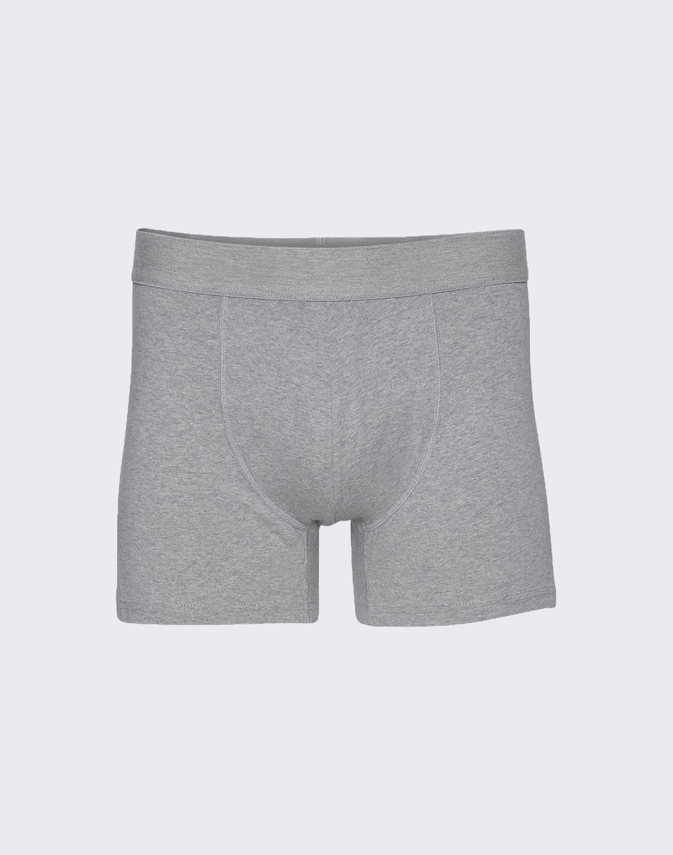 Colorful Standard Classic Organic Boxer Briefs Heather Grey S