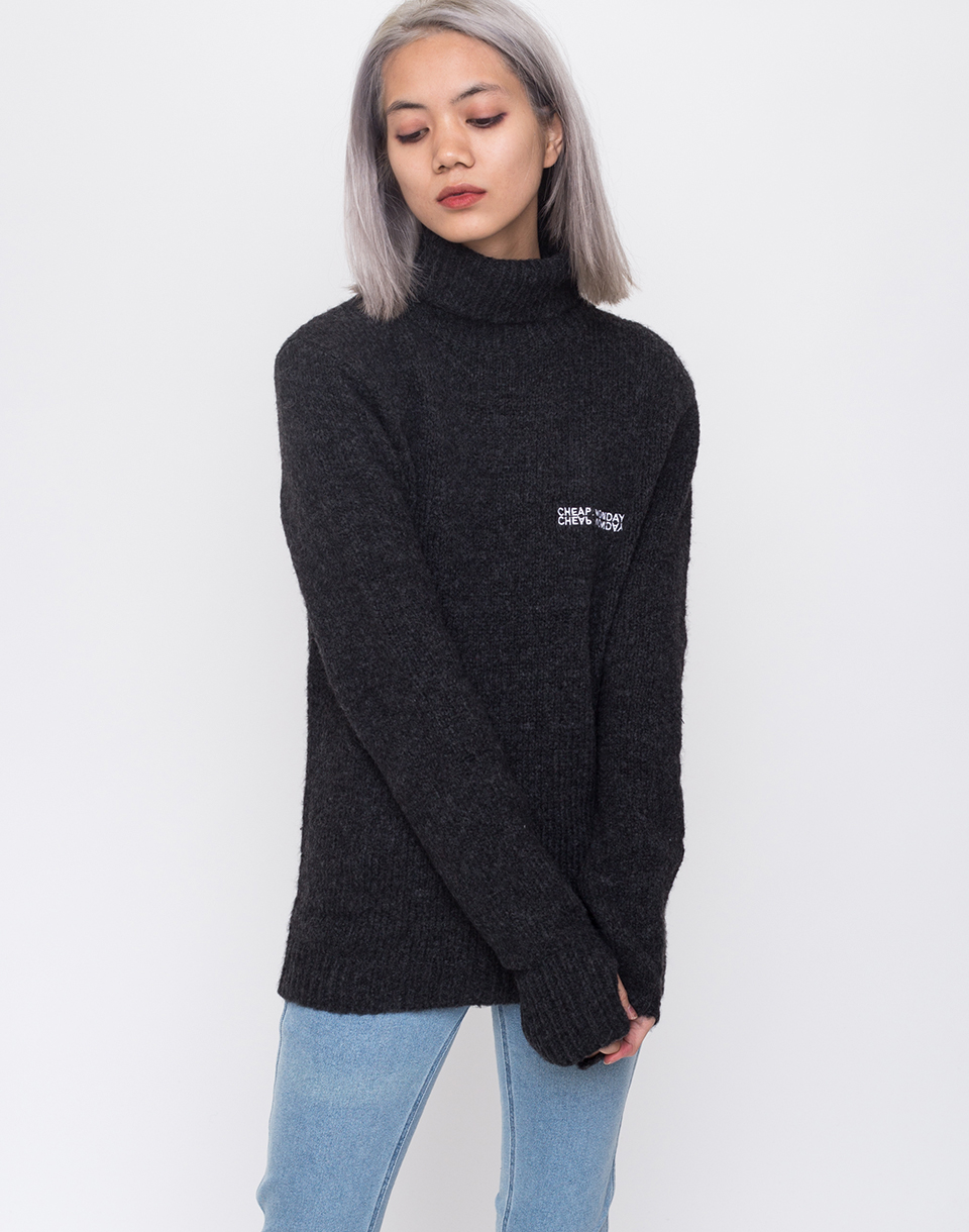 Cheap Monday Tap knit Echologo Black M