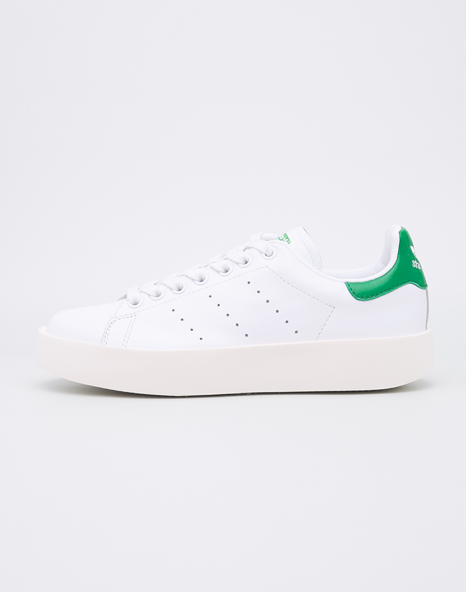 Adidas Originals Stan Smith Bold FTWWHT FTWWHT GREEN 40 5