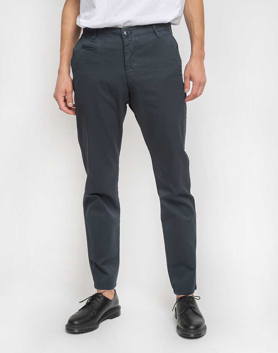 Knowledge Cotton Chuck Twill Chino 1001 Total Eclipse W34 L34