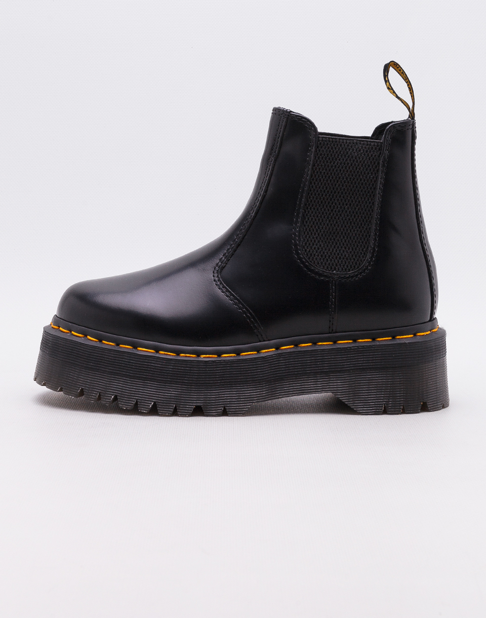 Dr  Martens 2976 Quad Black Polished Smooth 37