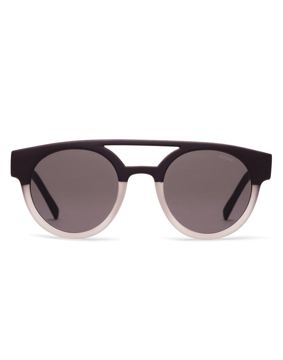 Sluneční brýle Komono Dreyfuss matte black transparent