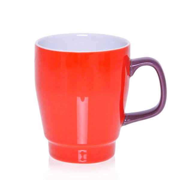 Sagaform Pop Hrnek červený/fialový