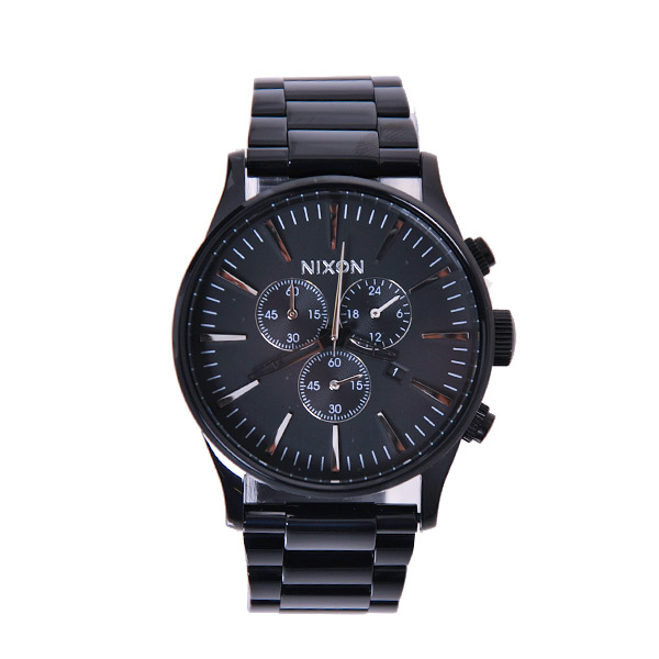Nixon Sentry Chrono All Black