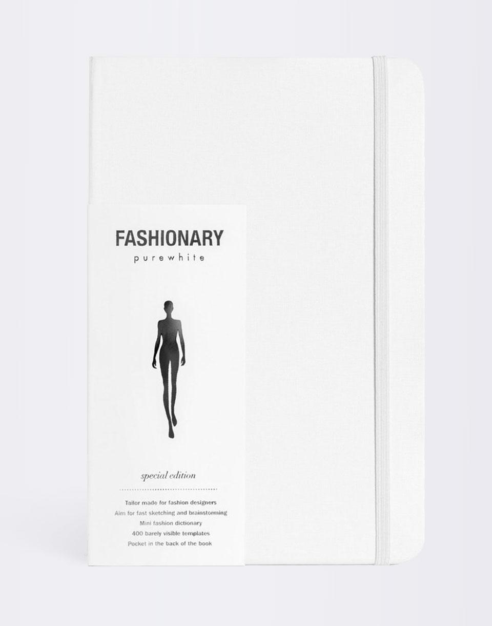 Knihy Fashionary Pure White Special Edition + novinka