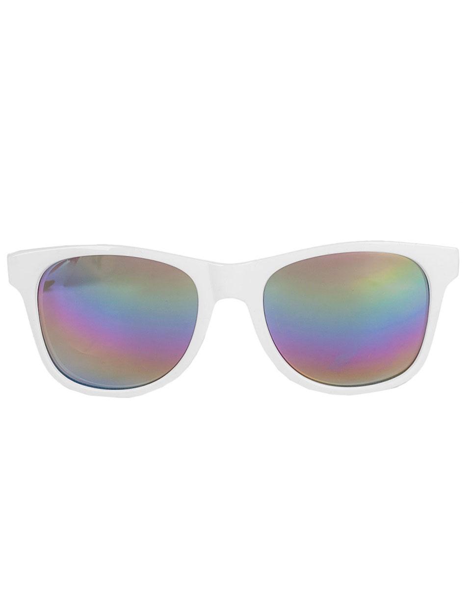 Sluneční brýle Vans Spicoli 4 Shades White - Rainbow Mirror