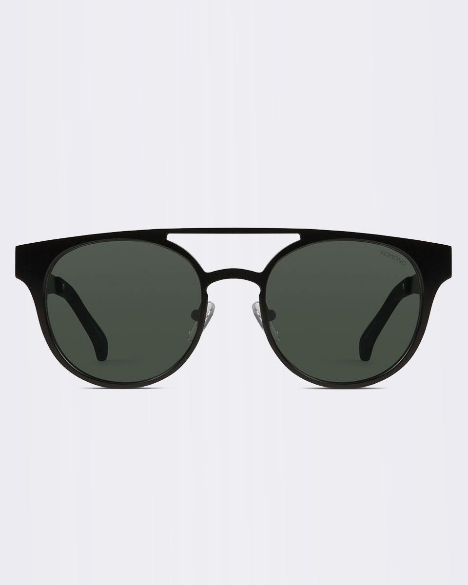 Sluneční brýle Komono Finley Black Matte + doprava zdarma