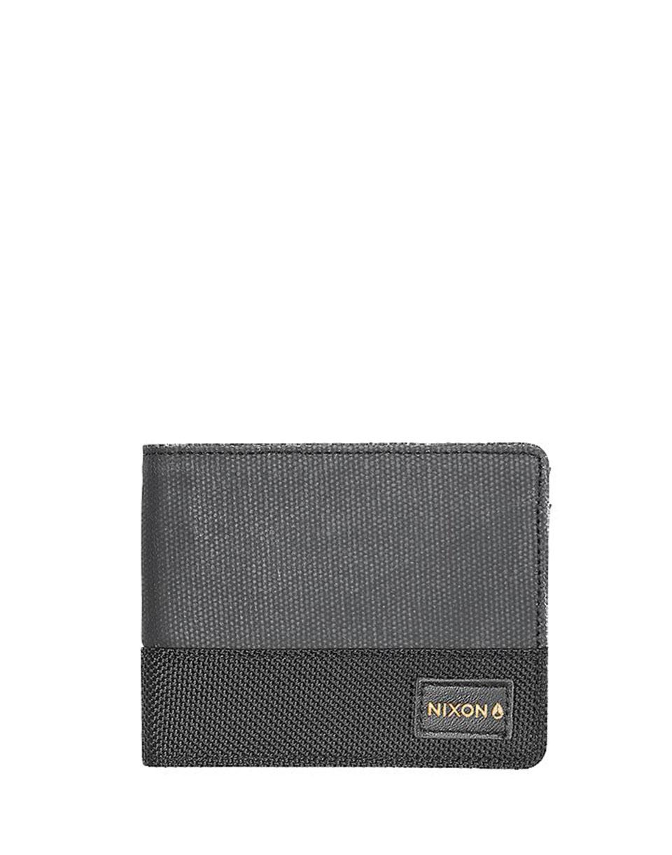 Peněženka Nixon Origami Arc Bi-Fold Black