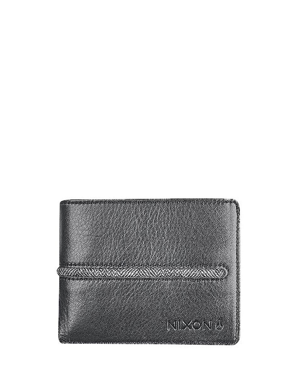 Peněženka Nixon Coastal Bi-Fold Black