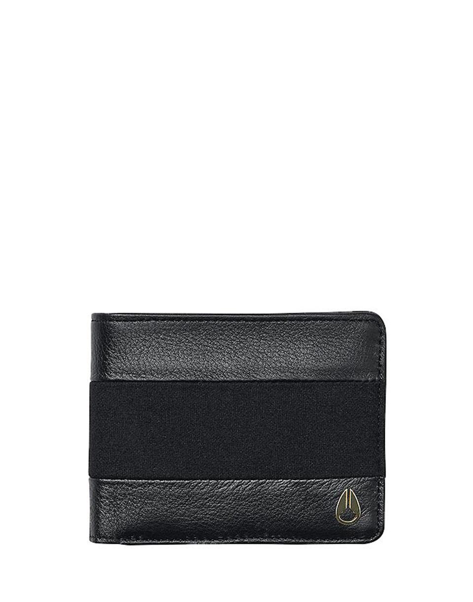 Peněženka Nixon Arc Bi-Fold black / black