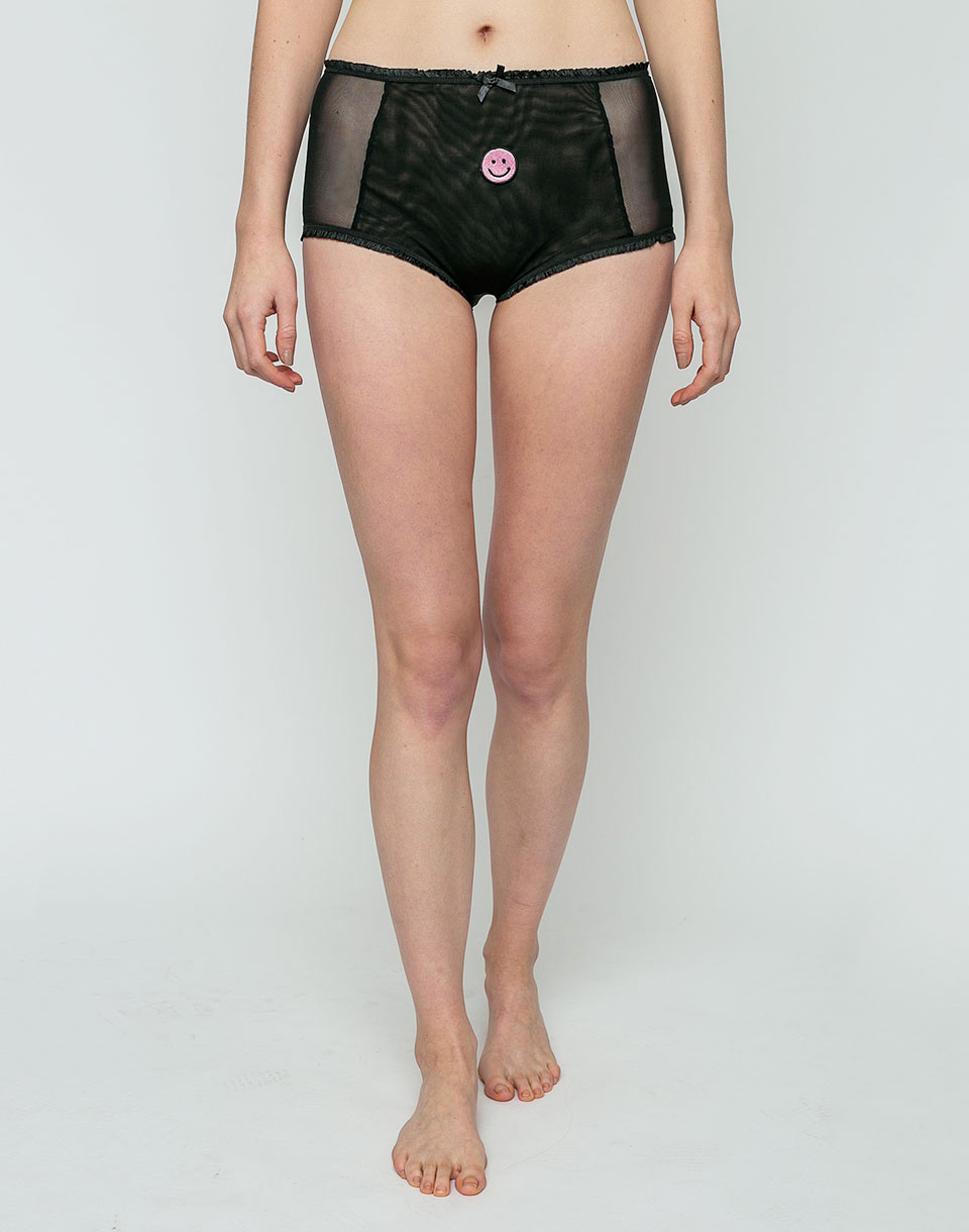 Lazy Oaf Face It Knickers Black L