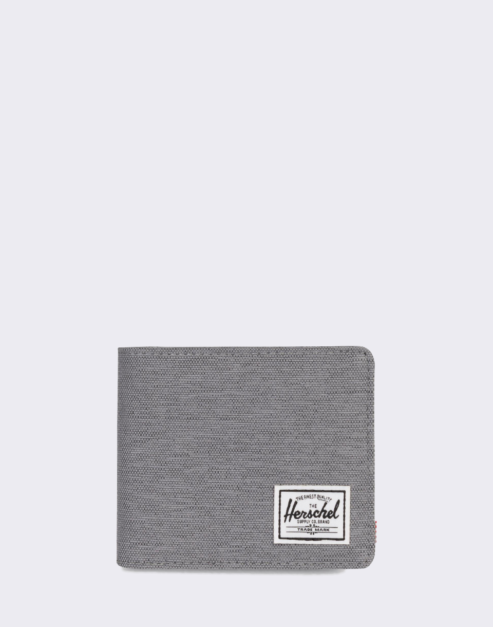 Herschel Supply Roy   Coin XL RFID Mid Grey Crosshatch