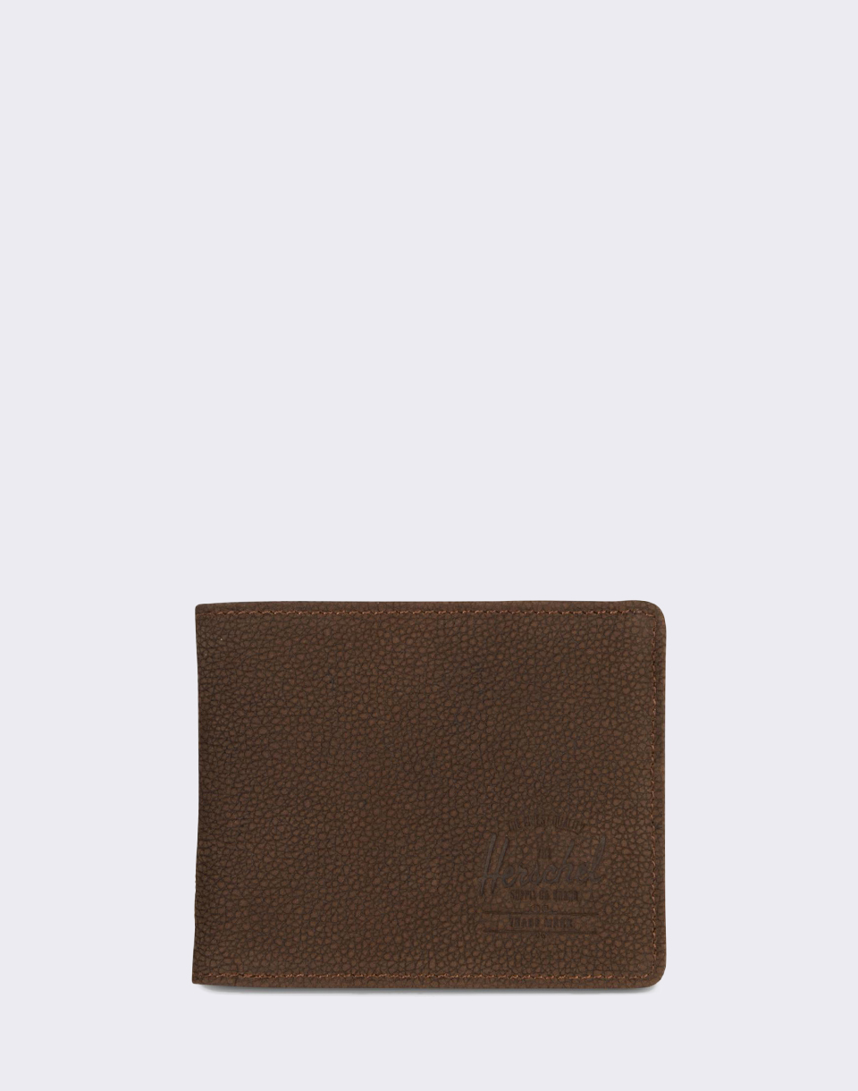 Herschel Supply Roy   Tile Brown Pebbled Nubuck