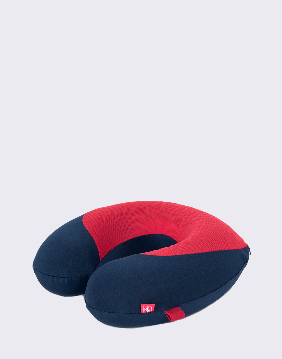 Herschel Supply Memory Foam Pillow Navy Red