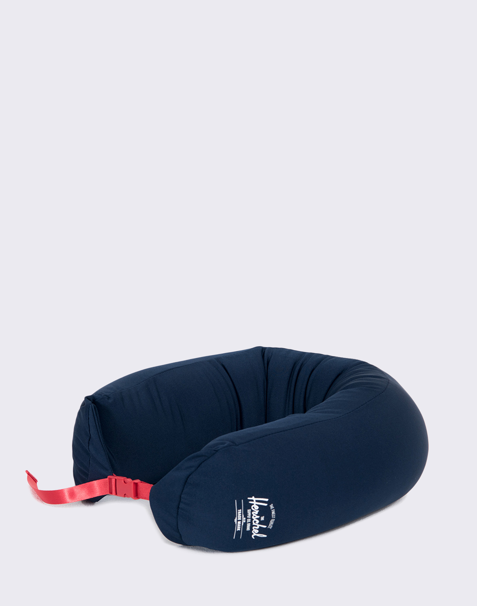 Herschel Supply Micro Bead Pillow Navy Red