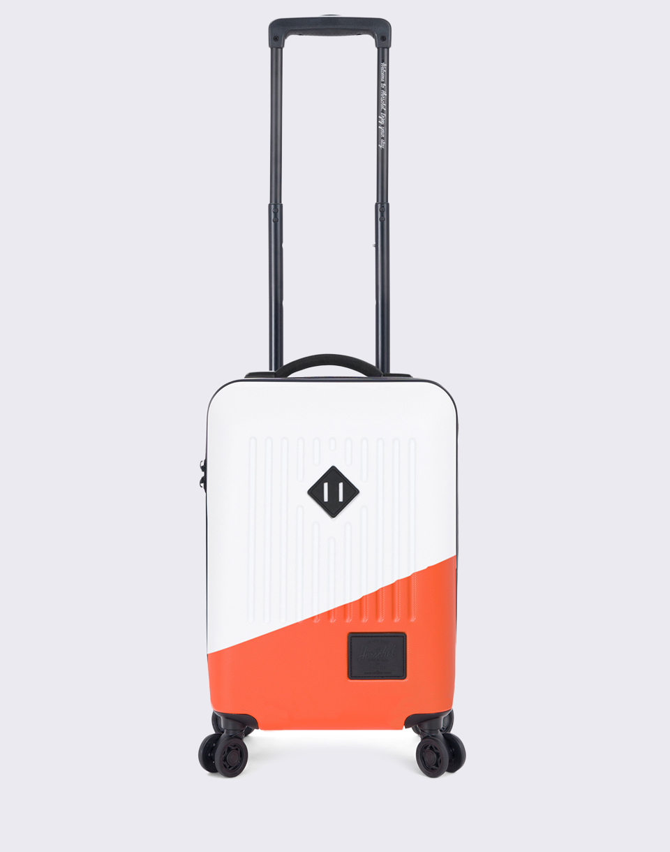 Herschel Supply Trade Power Carry On White Vermillion Orange