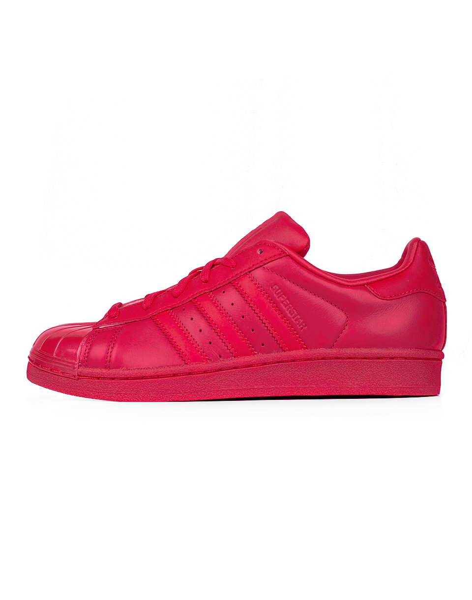Sneakers - tenisky Adidas Originals Superstar Gloss Ray Red/Ray Red/Bold Blue 37 + doprava zdarma