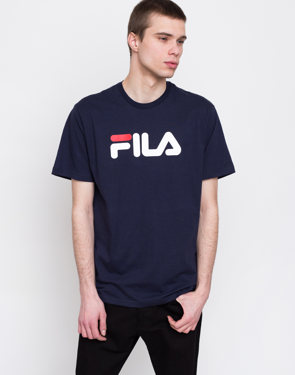 Fila Pure Short Sleeve Shirt Black Iris L