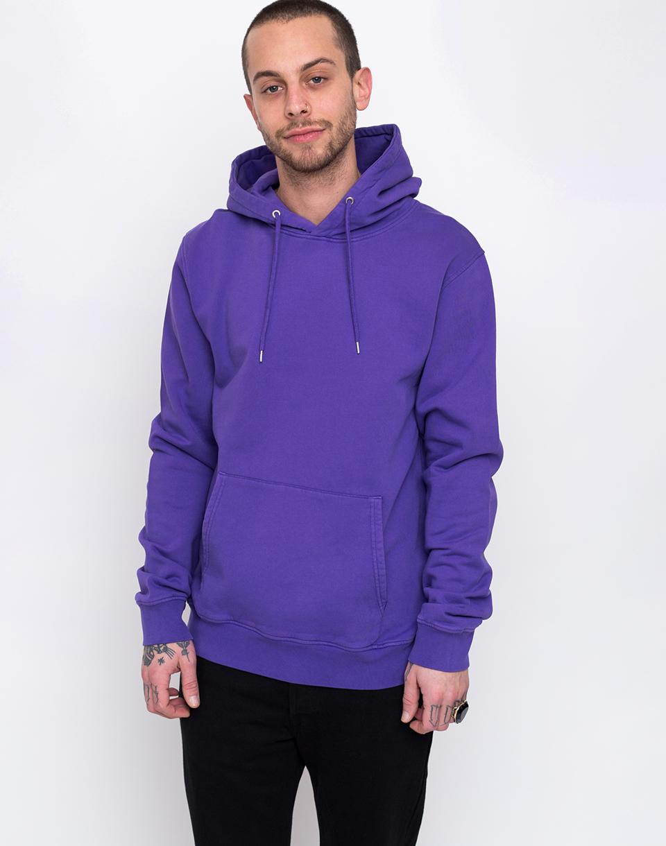 Colorful Standard Classic Organic Hood Ultra Violet M