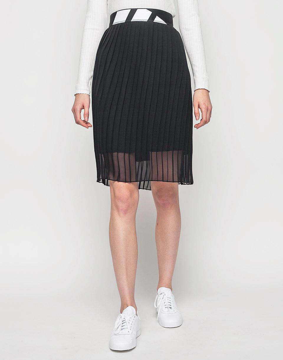 Sukně Adidas Originals Pleated BLACK 40