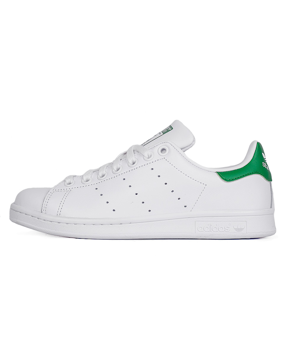 Sneakers - tenisky Adidas Originals Stan Smith Footwear White / Footwear White / Green 37