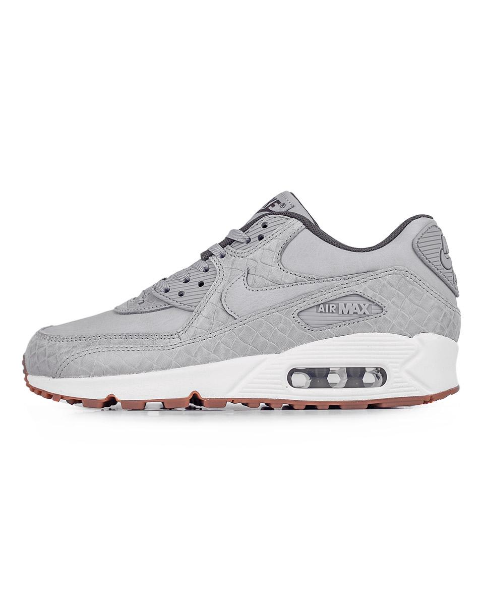 Sneakers - tenisky Nike Air Max 90 Premium Wolf Grey / Wolf Grey - Sail 38 + doprava zdarma + novinka