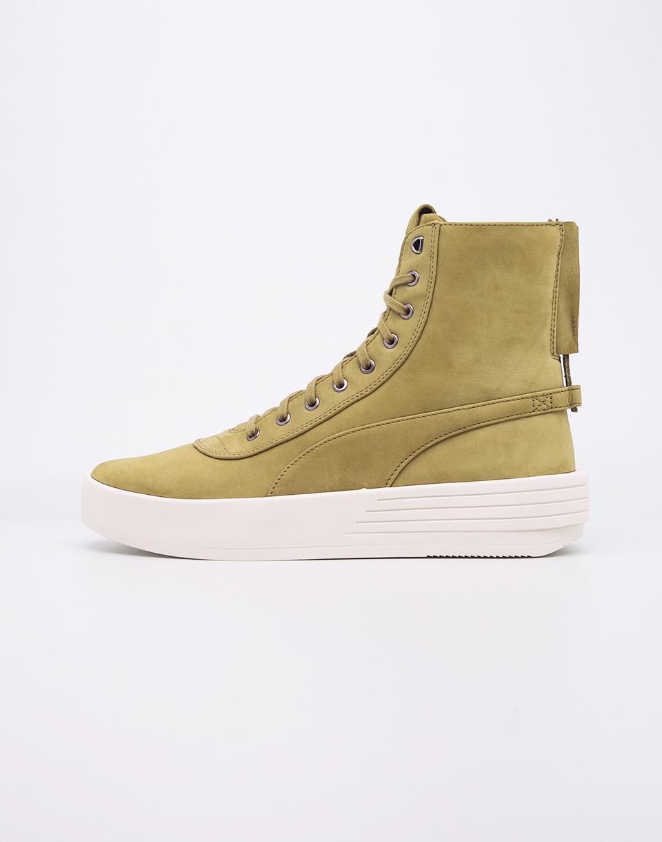Sneakers - tenisky Puma XO Parallel Green Olive 40 + doprava zdarma