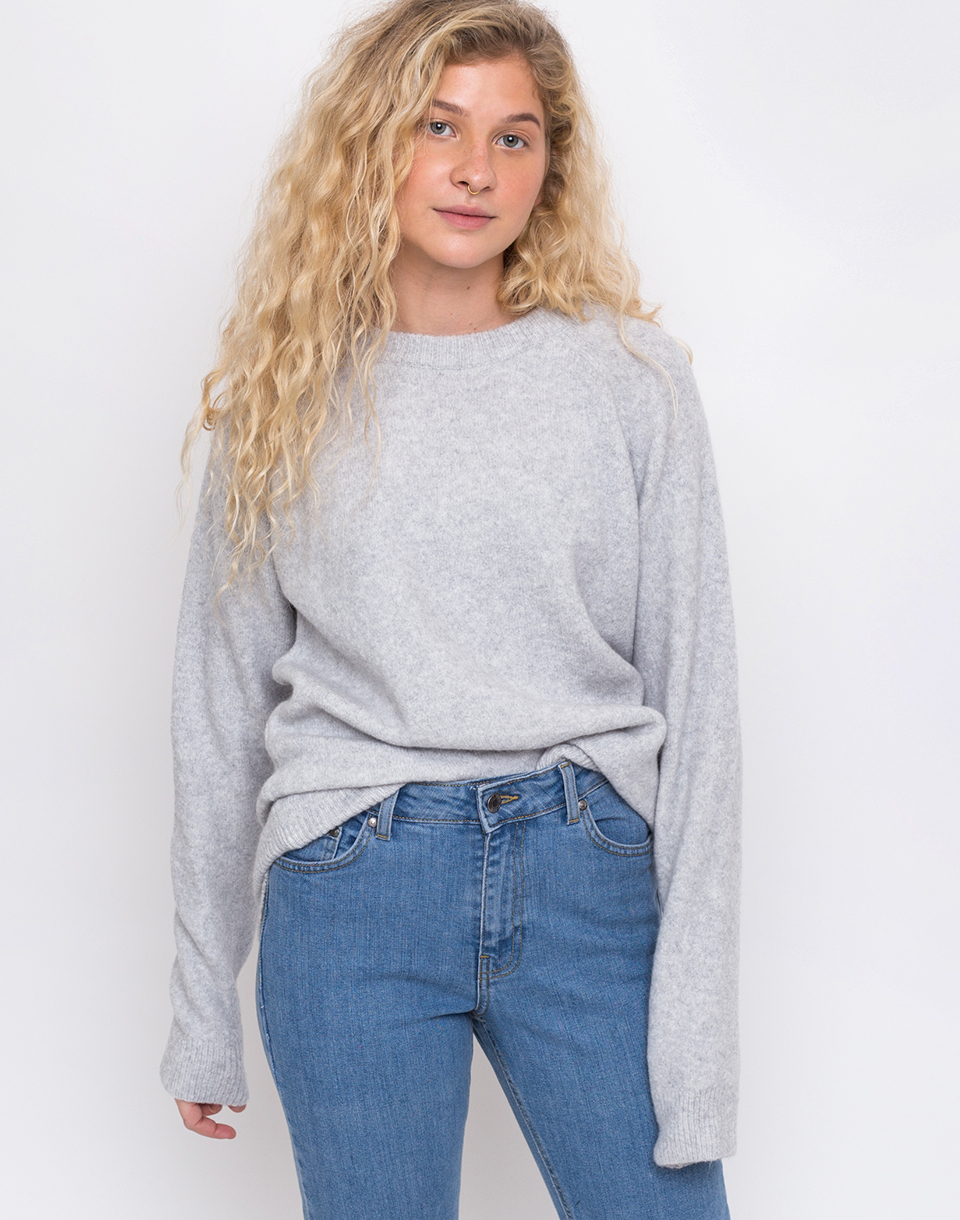 Makia Sade Knit Light Grey L