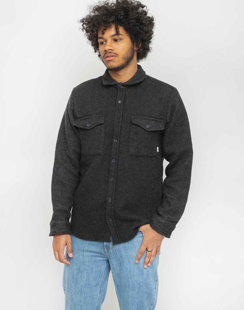 Makia Outland Overshirt Black M