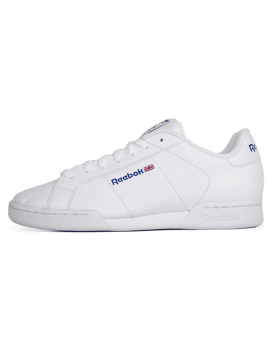 Sneakers - tenisky Reebok NPC II WHITE/WHITE 44