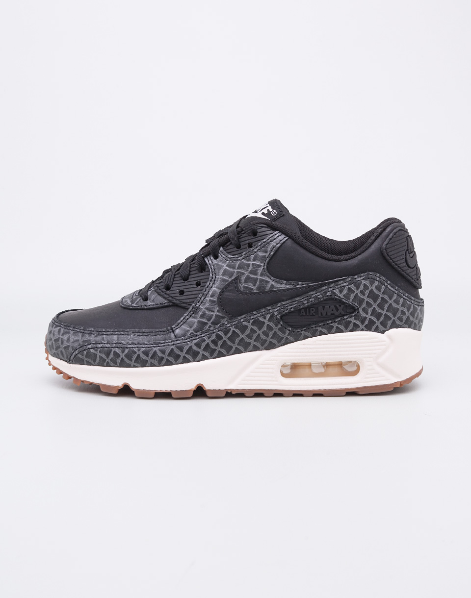 Sneakers - tenisky Nike Air Max 90 Premium Black / Black - Sail - Gum Medium Brown 38 + doprava zdarma