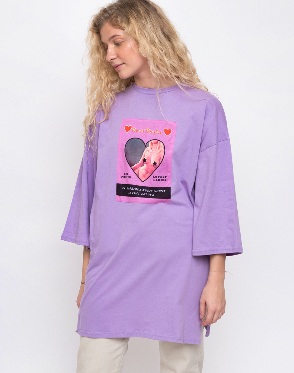 Lazy Oaf Rudie Nudie Purple M L