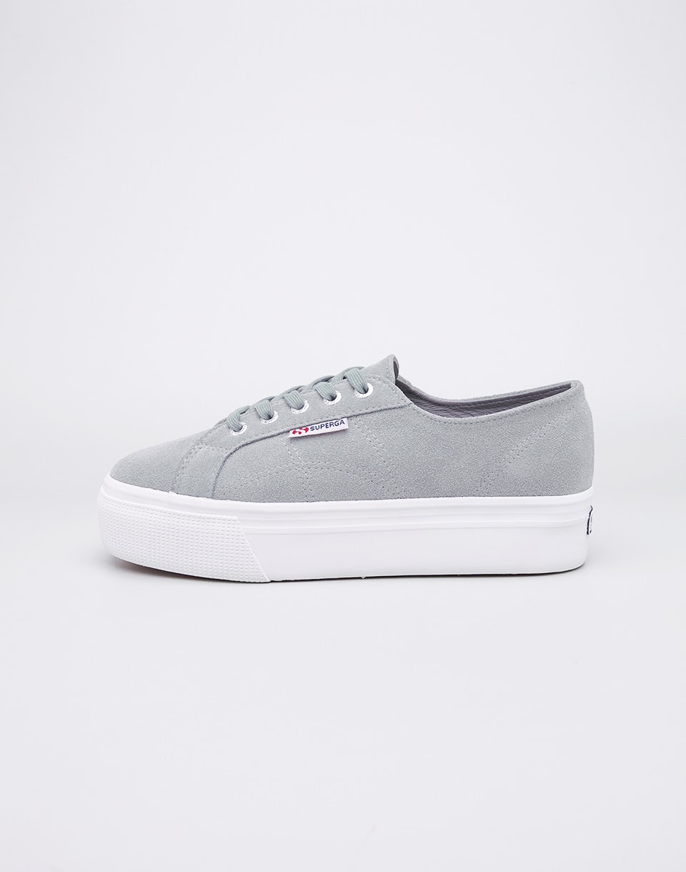 Superga 2790 Suew Light Grey 40