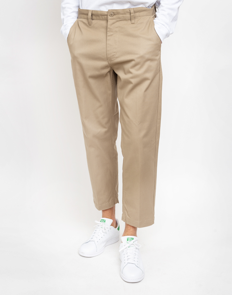 Obey Straggler Flooded Pants Khaki 32