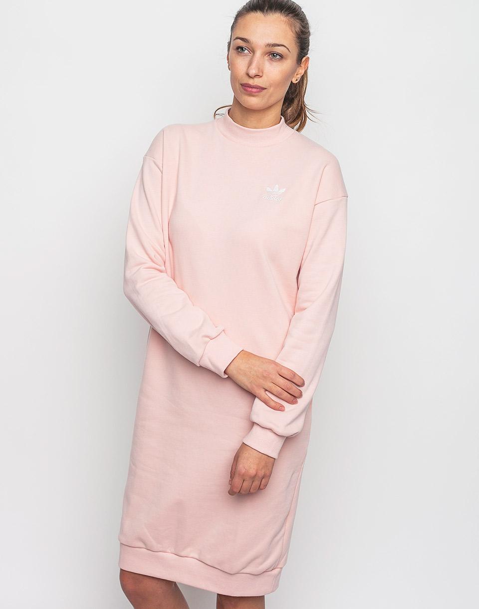 Šaty adidas Originals 3 Stripes Crew Vapour Pink 36 + novinka
