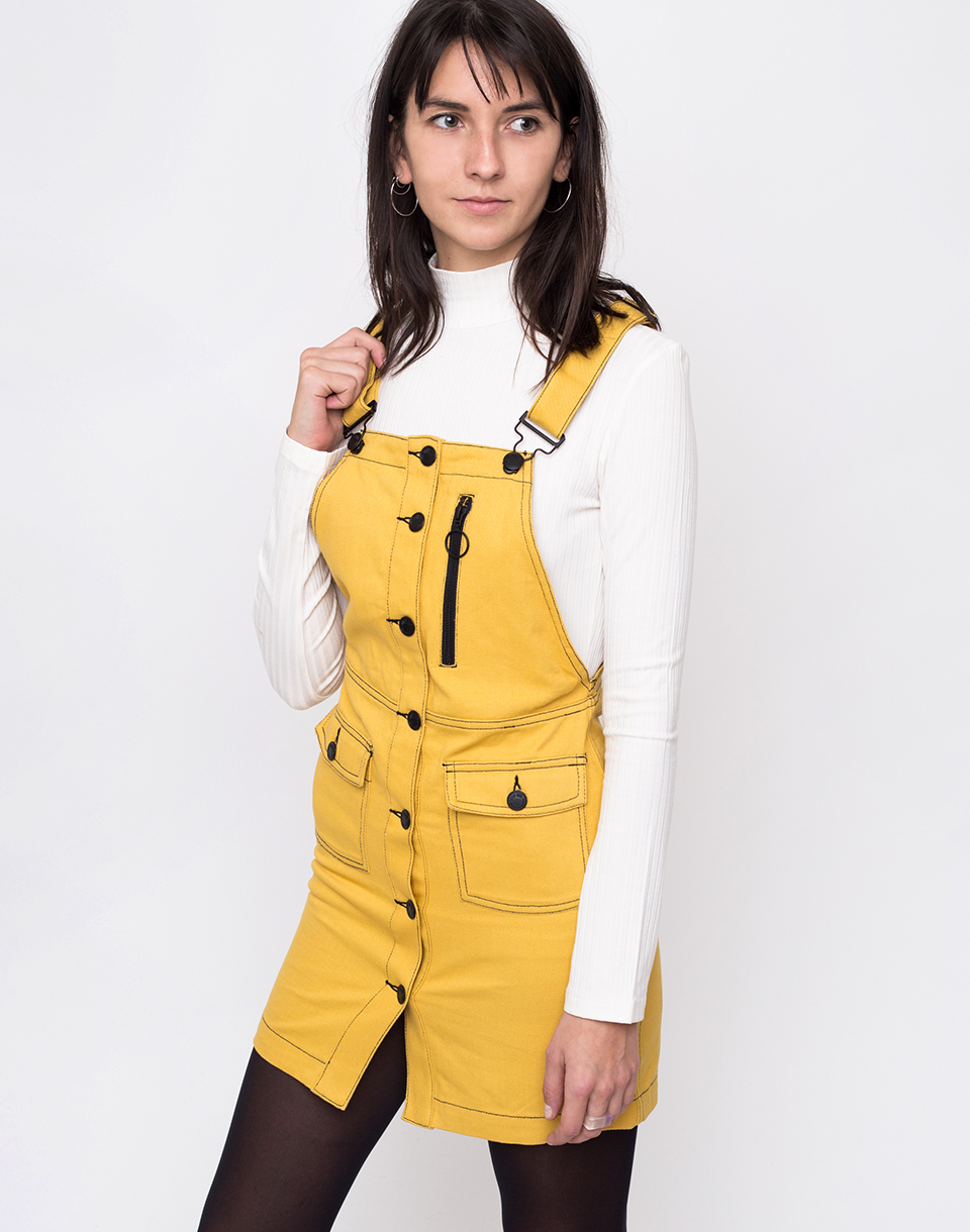 Lazy Oaf Yellow Pinafore Yellow L