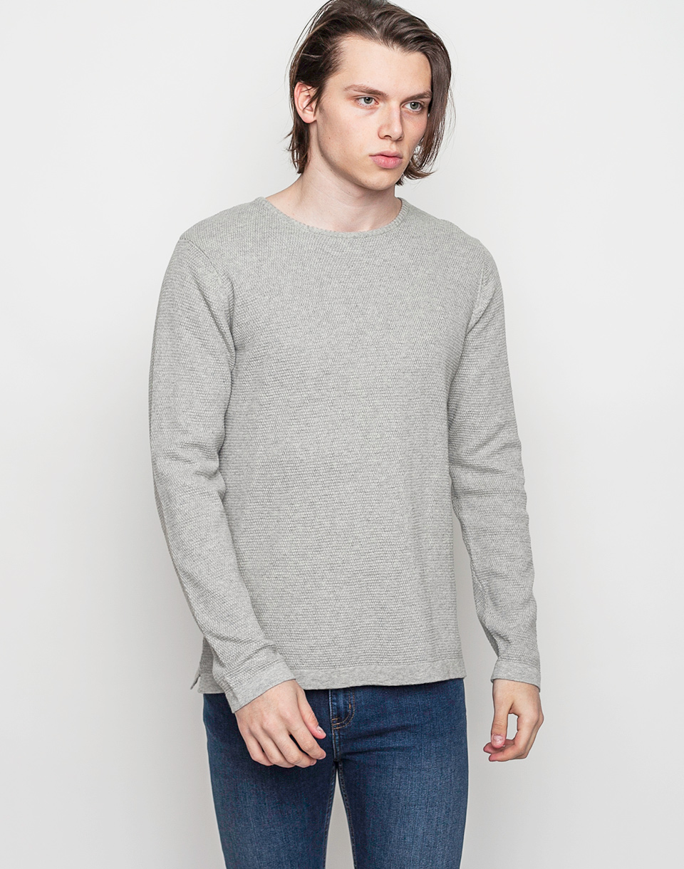 RVLT 6003 Knit Structure Light Grey M