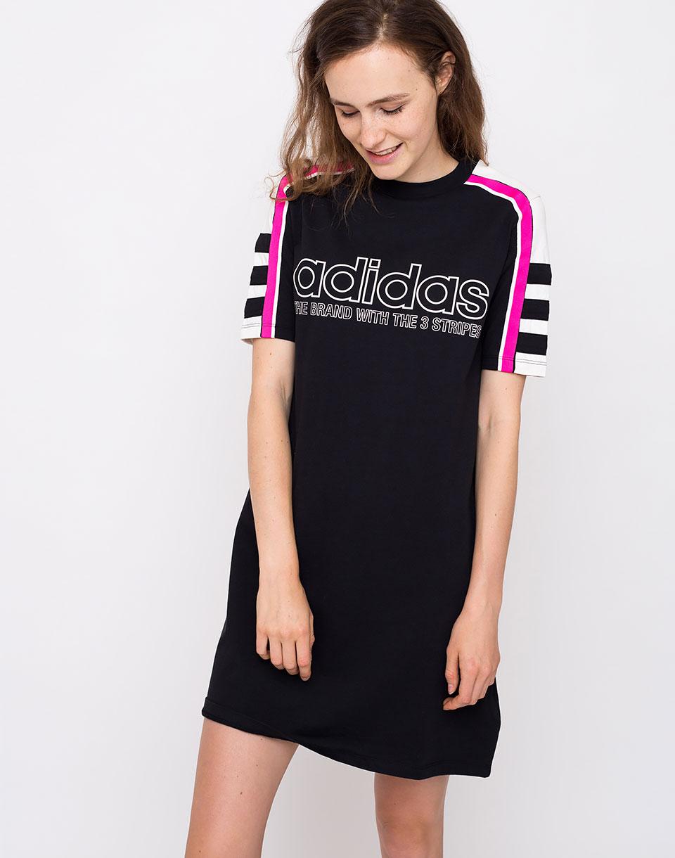 Adidas Originals Tee Dress Black 38 1ffe93082cd