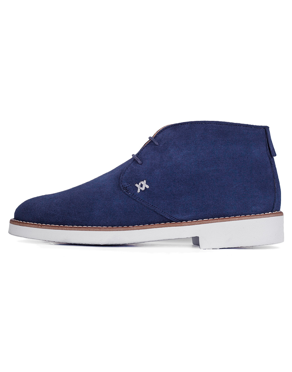Loreak Safari Chukka Leather Indigo 44