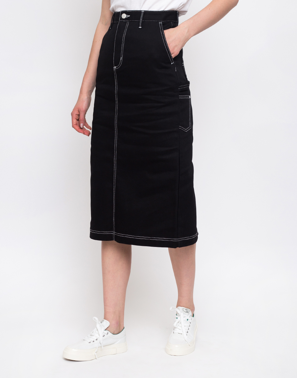 Carhartt WIP Pierce Skirt Black Rigid 28
