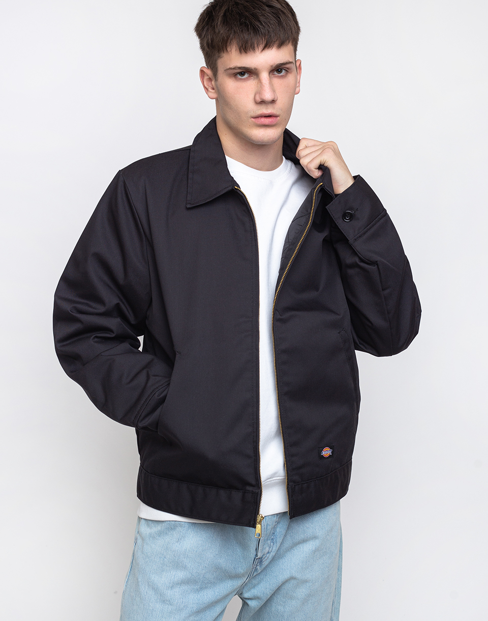 Dickies Lined Eisenhower Jacket Black S