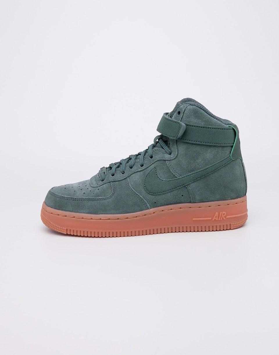 Sneakers - tenisky Nike Air Force 1 Hi SE Vintage Green/Vintage Green 40