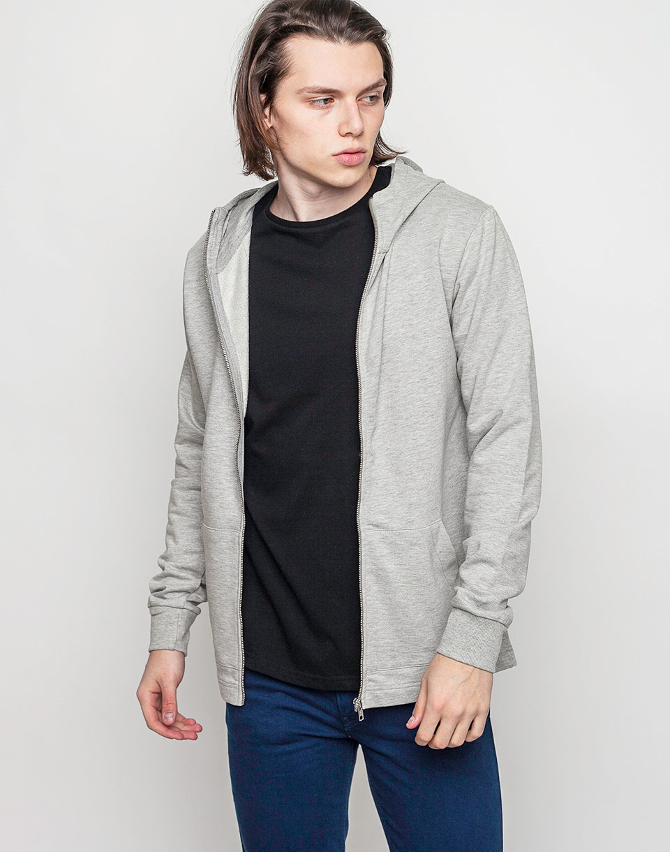 RVLT 2004 Sweat Zip Grey XL