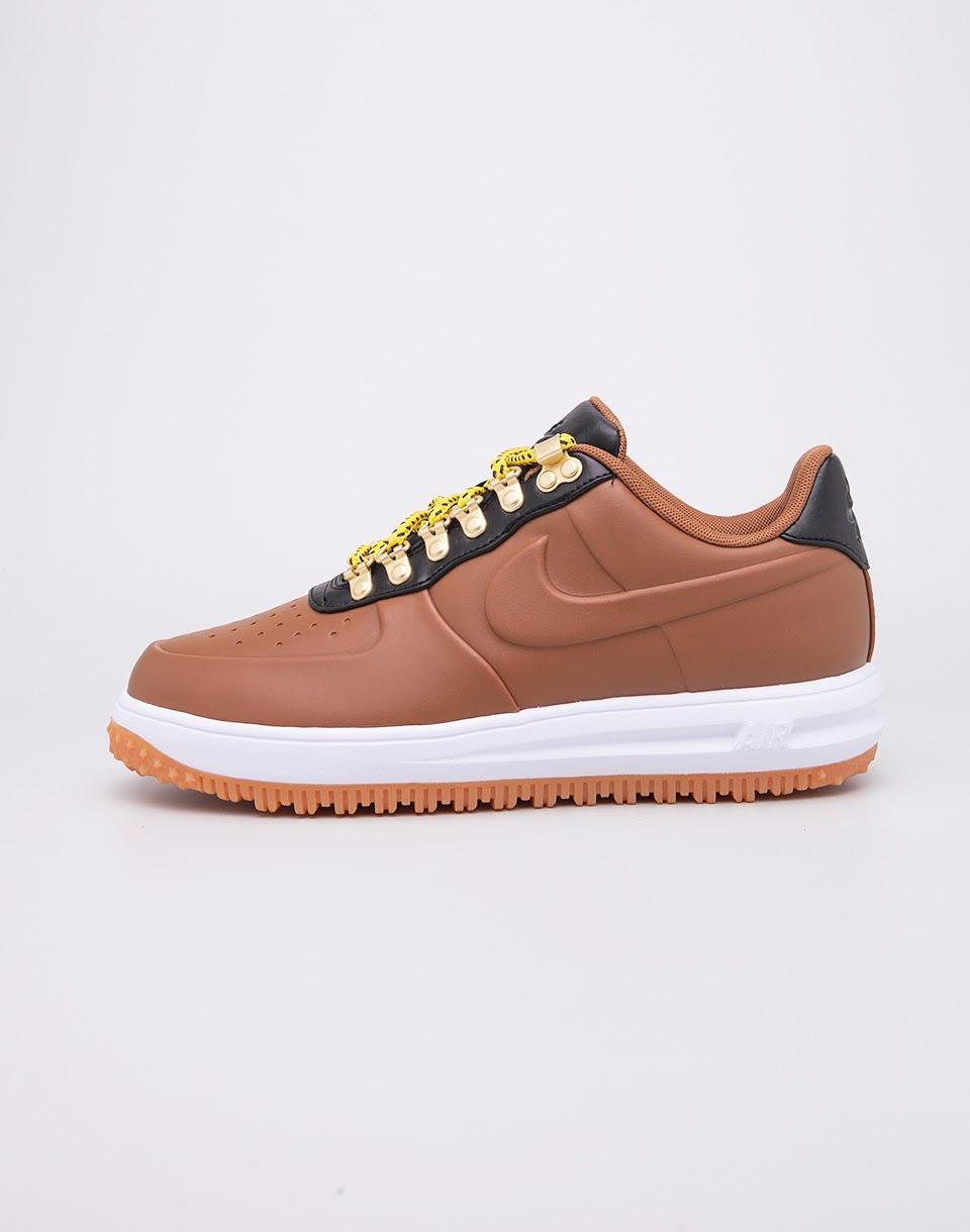 Sneakers - tenisky Nike Lunar Force 1 Duckboot Low Ale Brown/Ale Brown-Black-White 42 + doprava zdarma + novinka