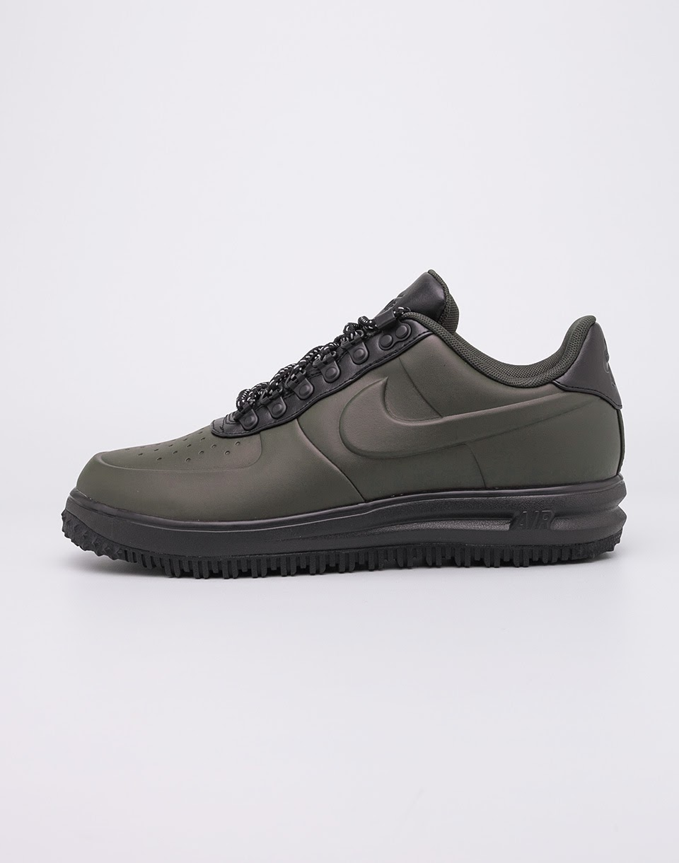 Sneakers - tenisky Nike Lunar Force 1 Duckboot Low Sequoia/Sequoia- Black 41 + doprava zdarma + novinka