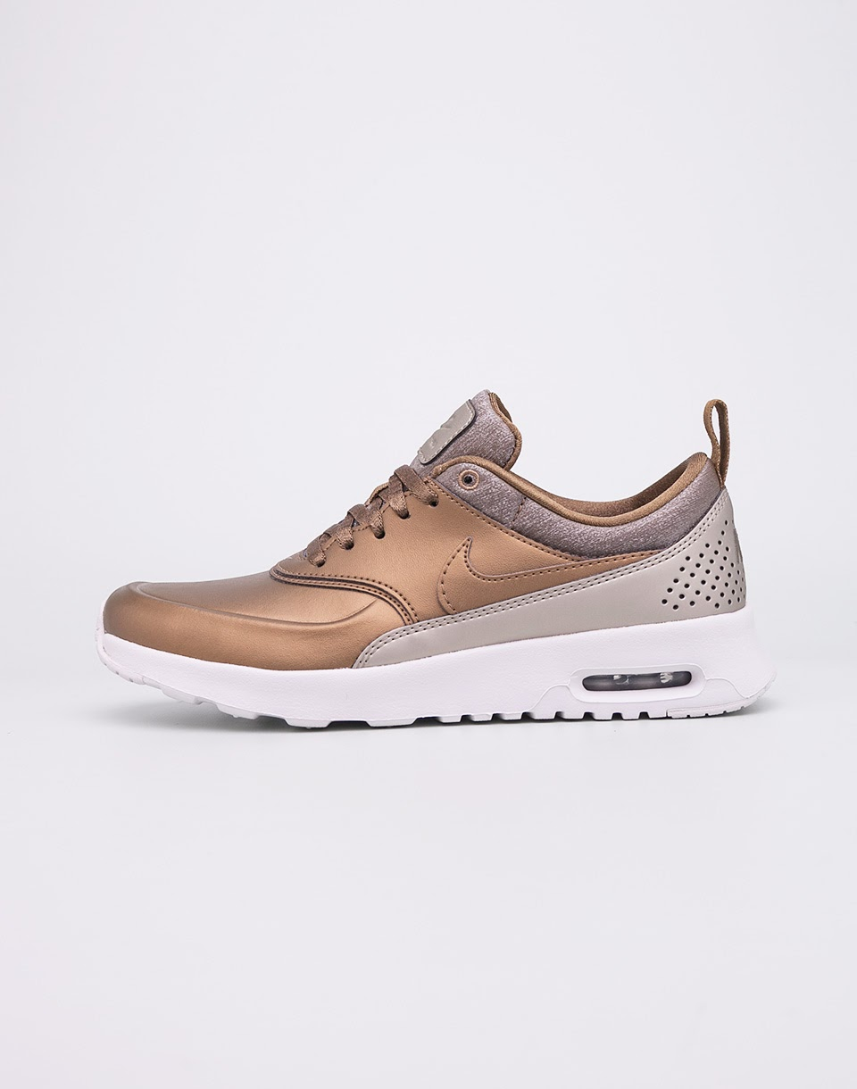 Sneakers - tenisky Nike Air Max Thea Premium Metallic Field/Metallic Field-Summit White 40 + doprava zdarma