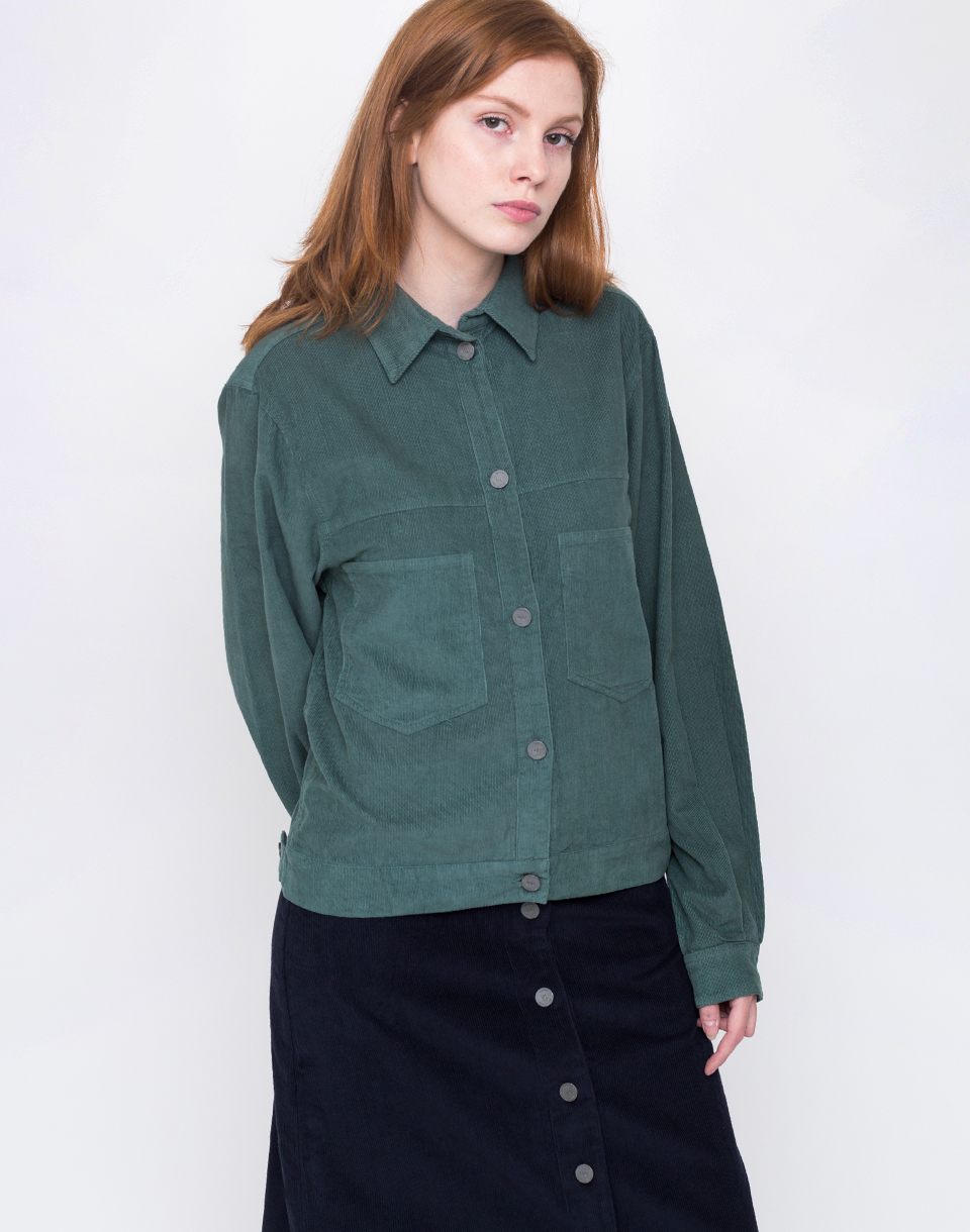 Thinking MU GREEN CORDUROY Deep Sea Green L